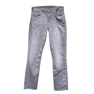 Joe's Jeans The Lacey Crop Raw Hem Denim Jeans